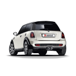 Mini Cooper S Coupe R58 Evolution Line Exhaust System