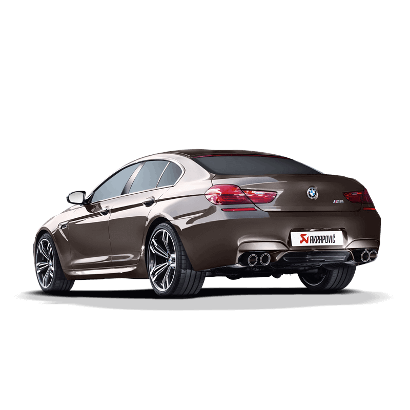 BMW M6 Gran Coupe Evolution Line Exhaust System 1