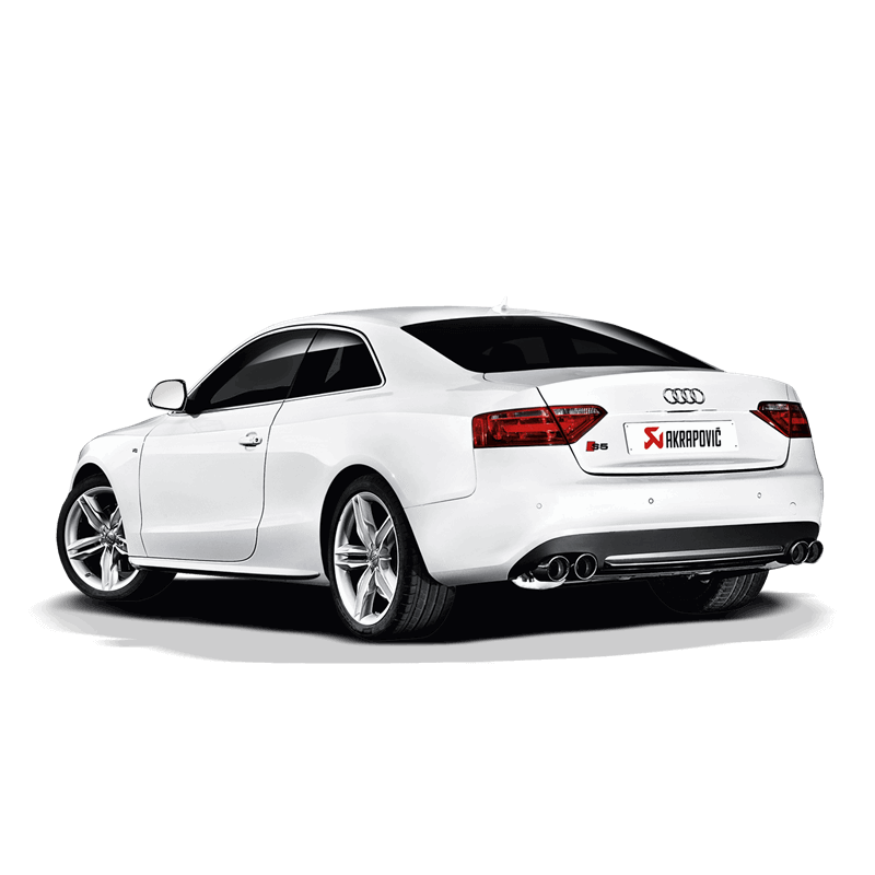 Audi S5 Coupe/Cabriolet (8T) Slip-On Pipe Exhaust System