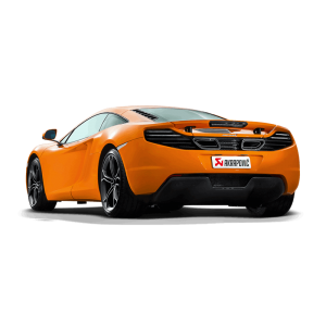 McLaren MP4-12C/12C Spider Akrapovic Slip On Titanium Exhaust