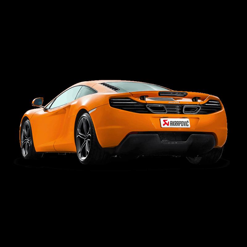 McLaren MP4-12C/12C Spider Akrapovic Slip On Titanium Exhaust 1