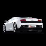 Lamborghini Gallardo LP 550-2 Coupé Akrapovic Slip On Titanium Exhaust