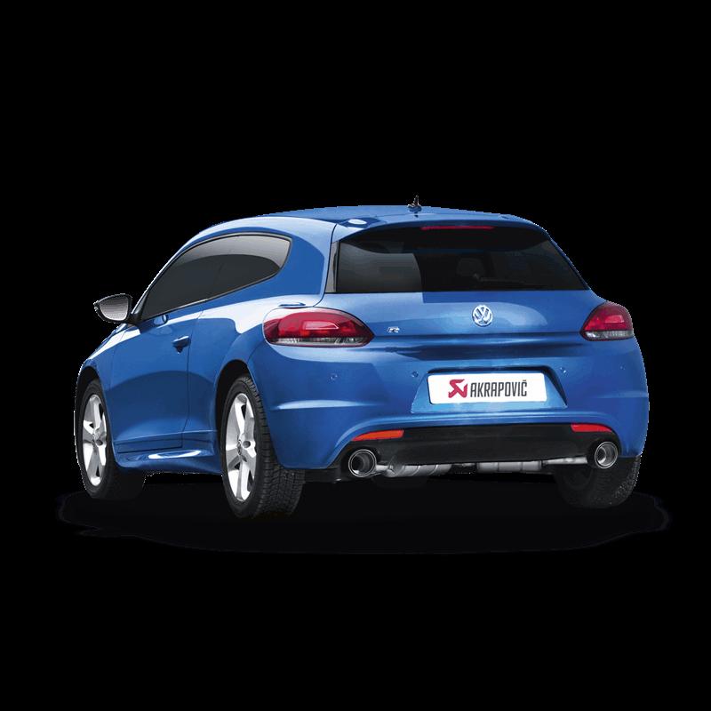 Volkswagen Scirocco R Slip-On Line Exhaust System