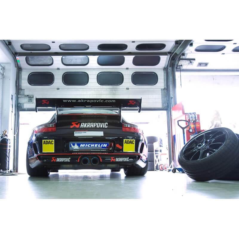 Porsche 911 GT3/RS (997) 3.6 Slip On Line Titanium Exhaust System