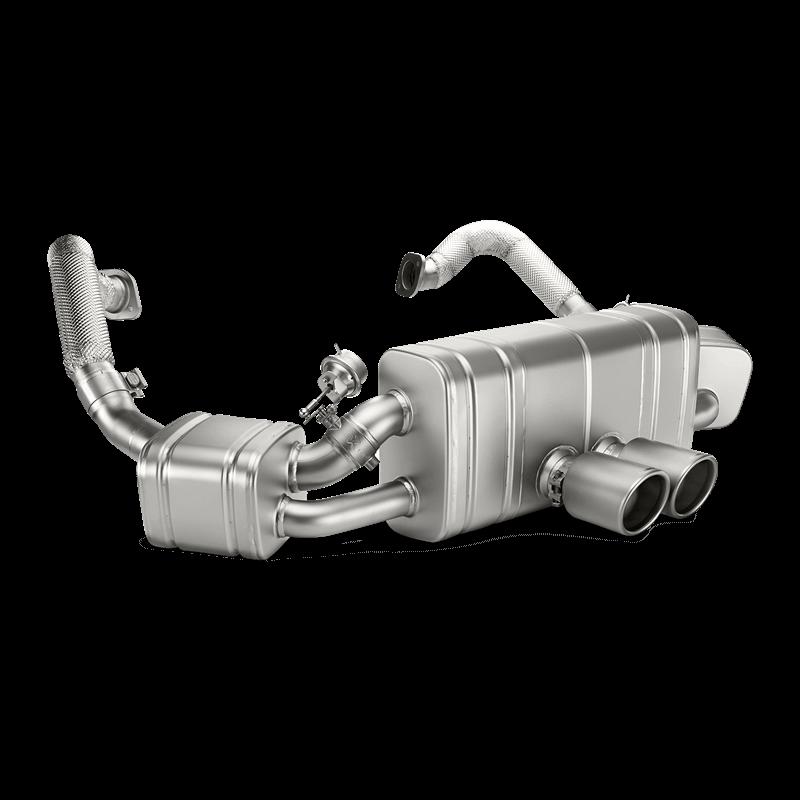 Porsche Cayman (981) Slip On Line Titanium Exhaust System
