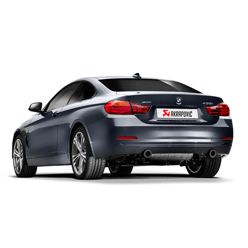 BMW 435i (F32) Evolution Line Exhaust System 1