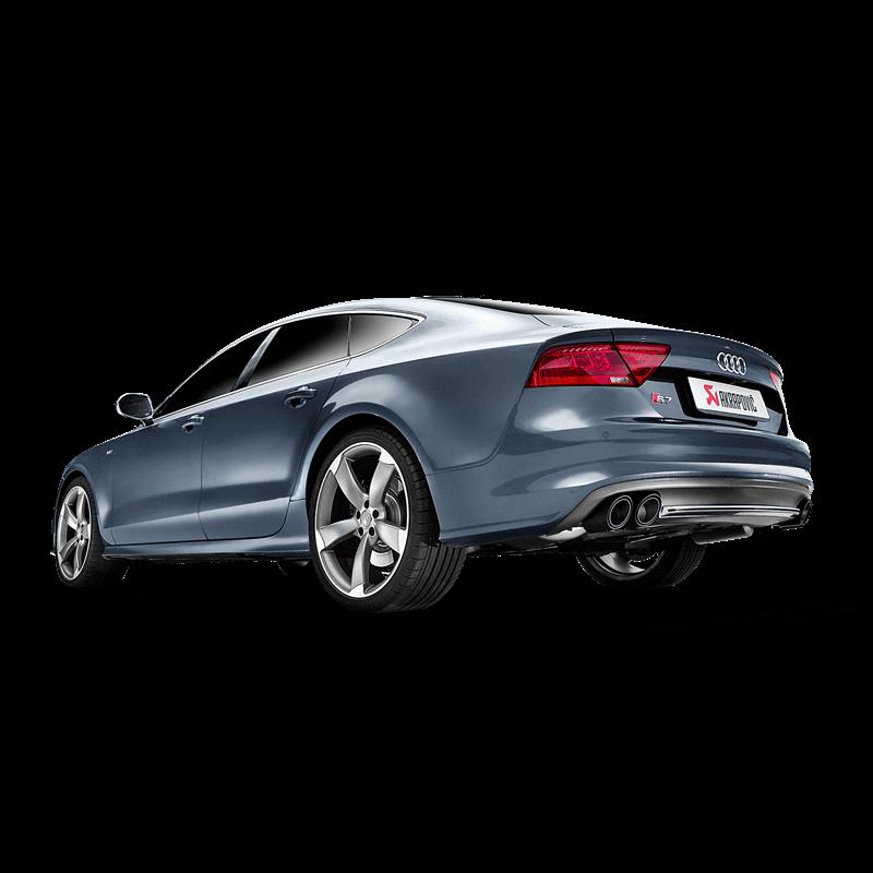 Audi S7 Sportback (C7) Evolution Line Titanium Exhaust System