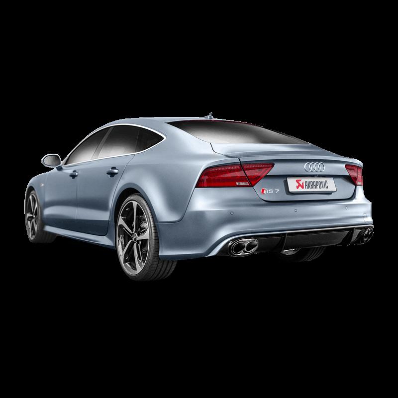 Audi RS7 Sportback (C7) Evolution Line Titanium Exhaust System