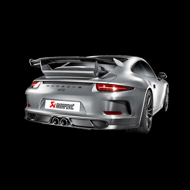 Porsche 911 GT3 (991) Slip On Line Titanium Exhaust System