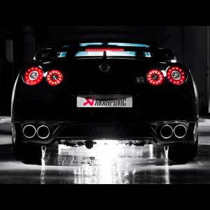 Nissan GT-R R35 Akrapovic Titanium Exhaust