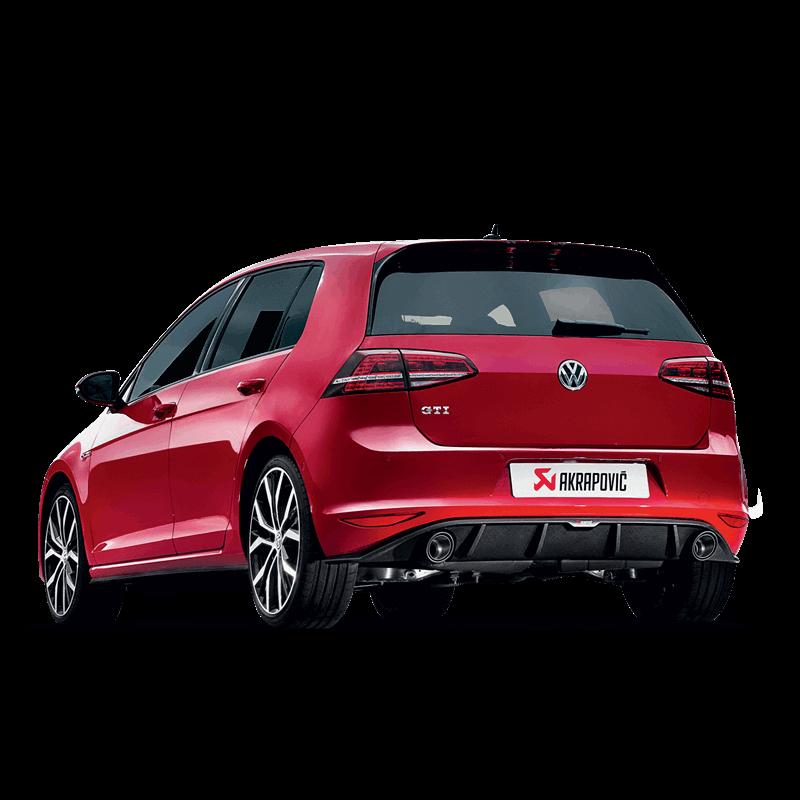 Volkswagen Golf (VII) GTI Slip-On Line Exhaust System