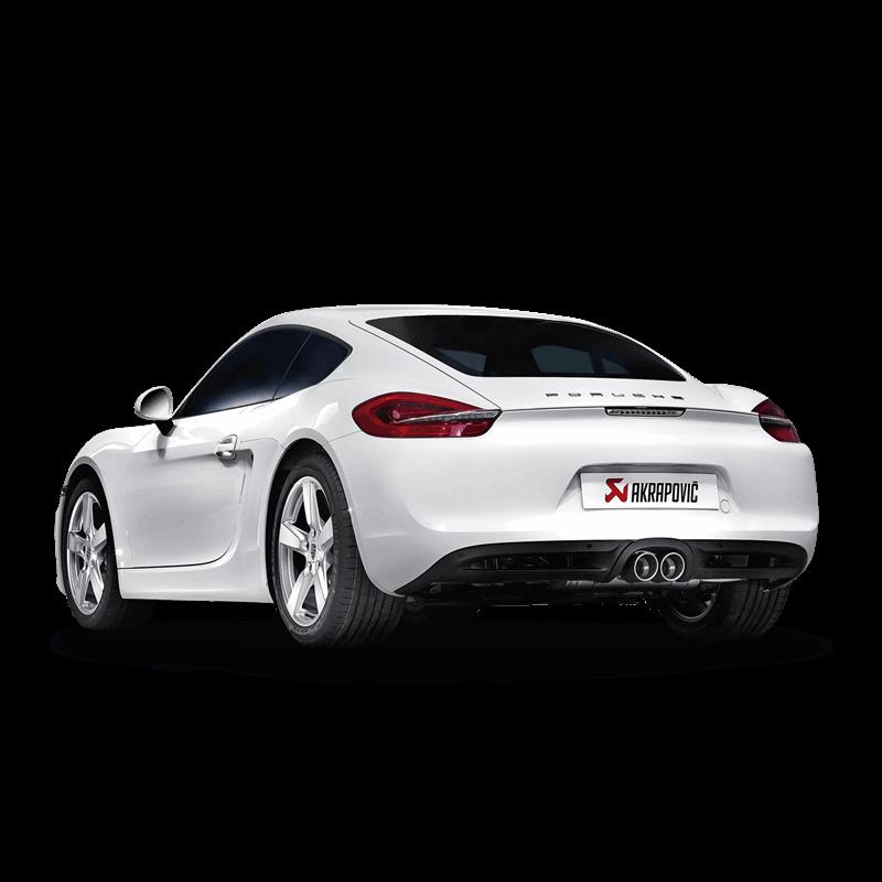 Porsche Cayman GTS (981) Slip On Line Titanium Exhaust System