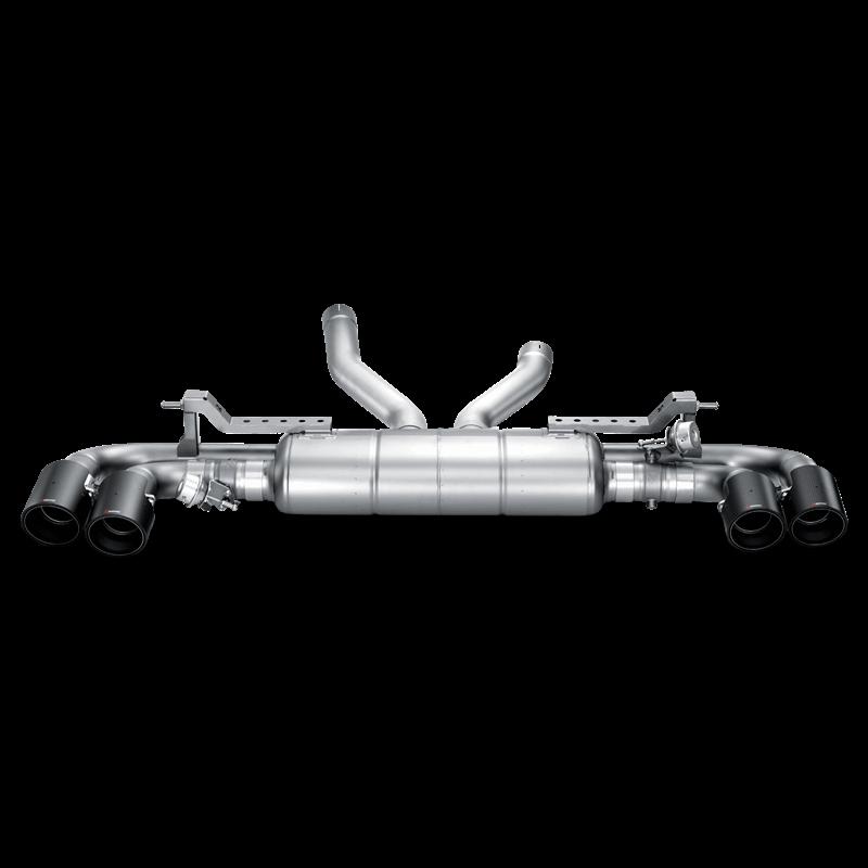 Porsche Cayenne S Hybrid (958) Slip On Line Titanium Exhaust System