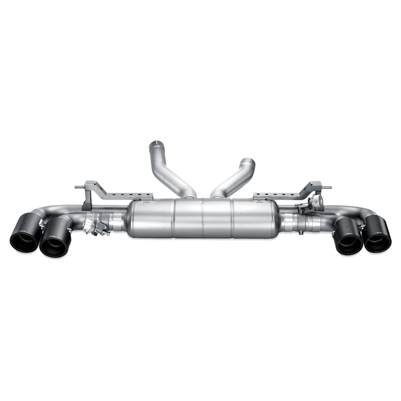 Porsche Cayenne (958) Slip On Line Titanium Exhaust System