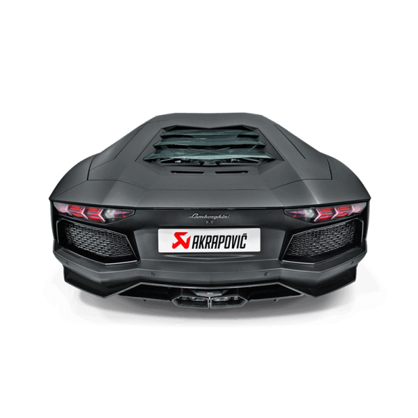 Lamborghini Aventador LP 700-4 Akrapovic Slip On Titanium Exhaust