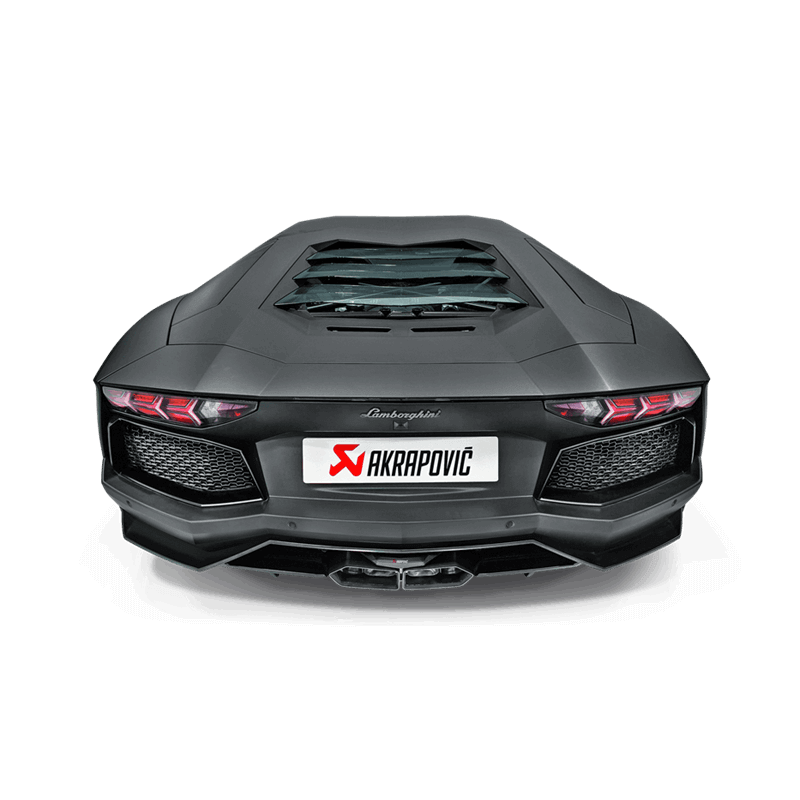 Lamborghini Aventador LP 700-4 Akrapovic Slip On Titanium Exhaust 1