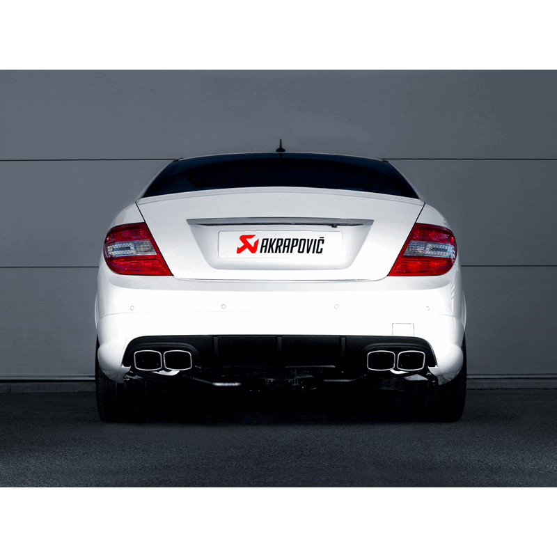 Mercedes C63 AMG/ C63 AMG Estate Evolution Line Titanium Exhaust System