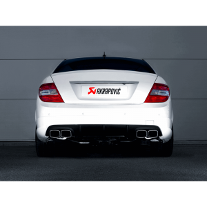 Mercedes C63 AMG Coupe Slip-On Line Titanium Exhaust System