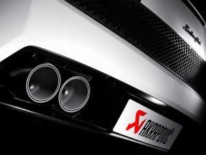 Lamborghini Gallardo LP 560-4 Akrapovic Slip On Titanium Exhaust