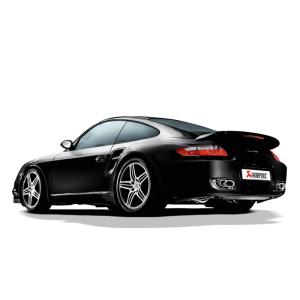 Porsche 911 Turbo (997) Slip On Line Titanium Exhaust System