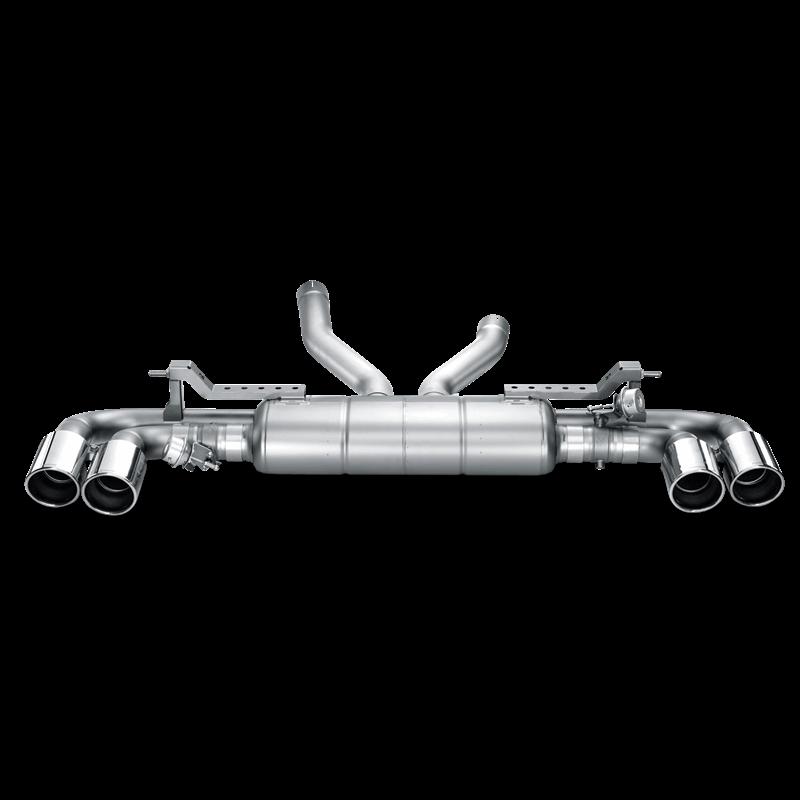 Porsche Cayenne Turbo (958) Slip On Line Titanium Exhaust System