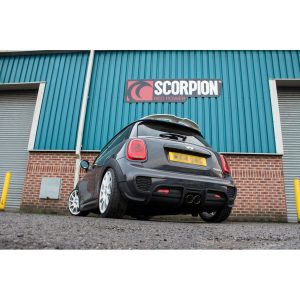 Mini Cooper S F56 Scorpion Exhaust System