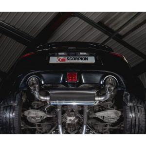 Nissan 370Z Scorpion Exhaust System