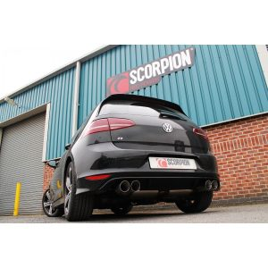 Volkswagen Golf R (pre facelift) Scorpion Exhaust System