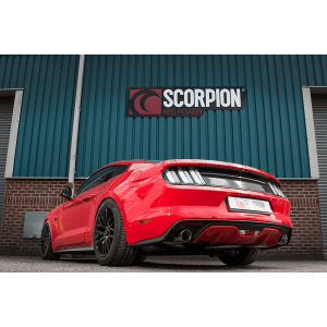 Mustang 5.0 V8 GT Scorpion Cat-Back Exhaust System