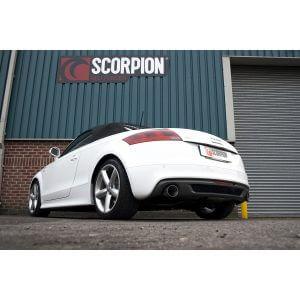 Audi TT Mk2 2.0 TFSi Scorpion Exhaust System