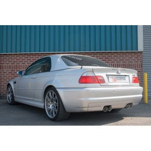 BMW E46 M3 Scorpion Exhaust System