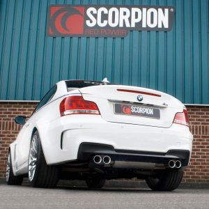BMW 1M Coupe Scorpion Exhaust System