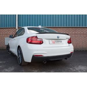 BMW 235i Scorpion Exhaust System