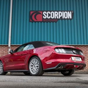 Ford Mustang 2.3L Ecoboost Scorpion Exhaust System