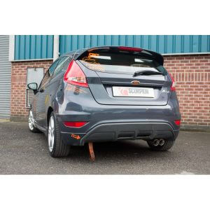 Ford Fiesta 1.6 Duratec/Zetec S (Mk7) Scorpion Exhaust System