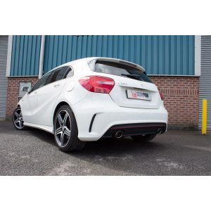 Mercedes A-Class A250 AMG 4Matic Scorpion Non-Resonated Cat-Back exhaust system