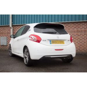 Peugeot 208 GTI 1.6T Scorpion Exhaust System