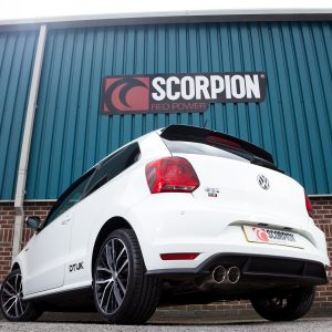 Volkswagen Polo GTi 1.8T 6C Scorpion Exhaust System