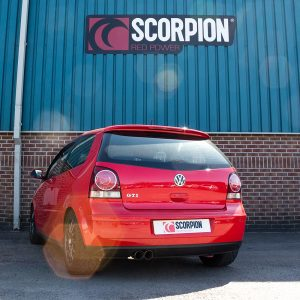 Volkswagen Polo GTi 1.8T 9n3 Scorpion Exhaust System