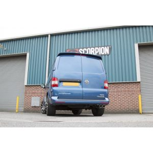 Volkswagen Transporter & Caravelle 2WD/4Motion Scorpion Exhaust System