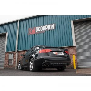 Audi A4 B8 2.0 TFSi Scorpion Cat-Back Exhaust System
