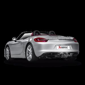Porsche Boxter GTS (981) Slip On Line Titanium Exhaust System