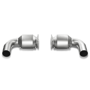 Porsche 911Turbo/Turbo S (997 FL) Link Pipe Set 100 CPSI Cats