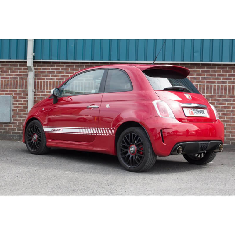 Abarth 500/595 (IHI Turbo) Scorpion Cat-Back Exhaust System