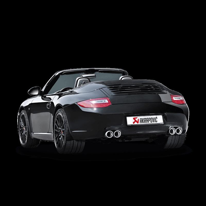 Porsche Carrera Cabriolet/S/4/4SGTS (997 DFI) Slip On Race Line Titanium Exhaust System
