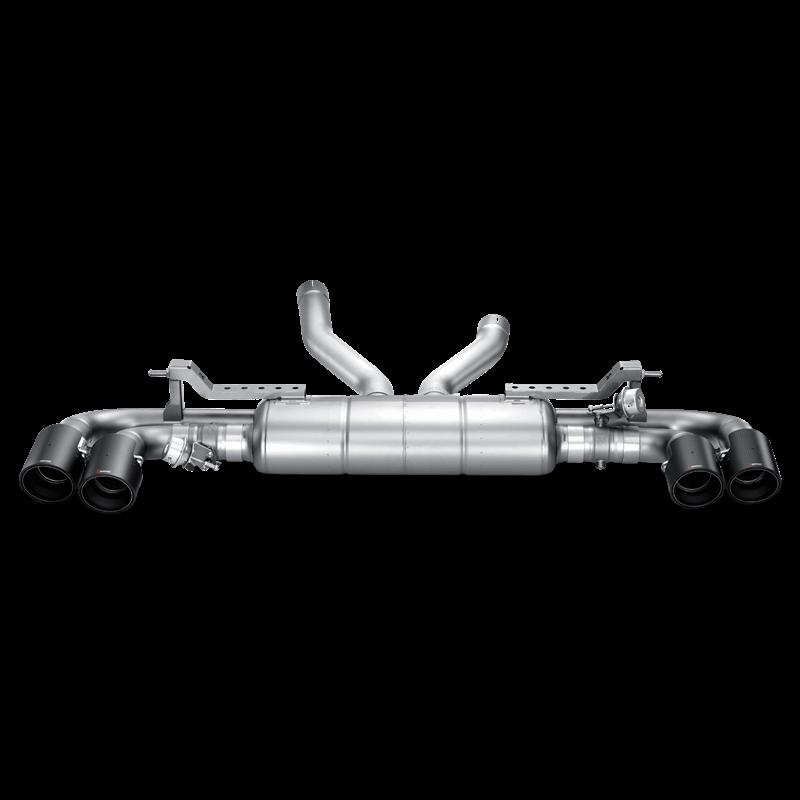 Porsche Cayenne Turbo S (958) Slip On Line Titanium Exhaust System