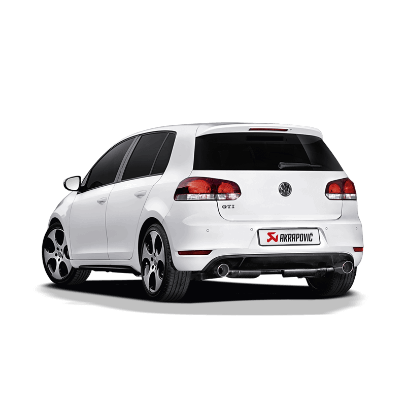 Volkswagen Golf (VI) GTI Slip-On Line Exhaust System