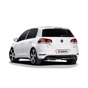 Volkswagen Golf (VI) GTD Slip-On Line Exhaust System