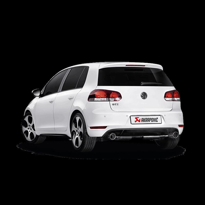 Volkswagen Golf (VI) GTD Slip-On Line Exhaust System