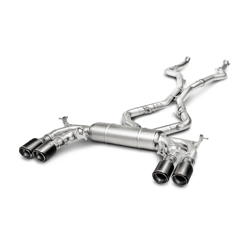 BMW X5 M (F85) Evolution Line Titanium Exhaust System